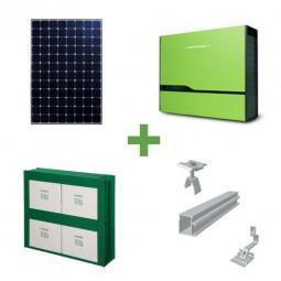 5kW Komplettpaket Sunpower mit 5kWh Speicher