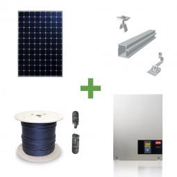 10kW Komplettpaket Sunpower